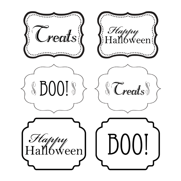 halloween jar labels chicfetti
