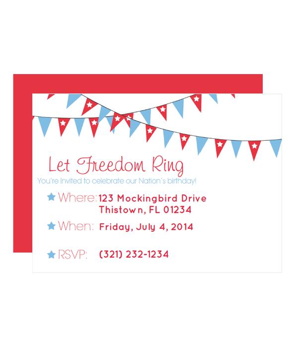 free invitation printable