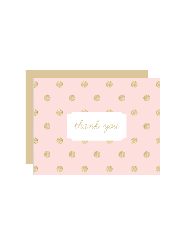 Free Printable Glitter Wedding Thank You Cards - Place card maker