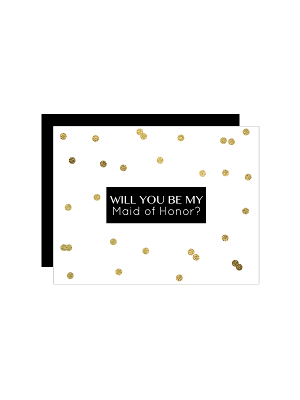 free printable gold will you be my bridesmaid cards