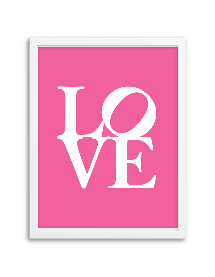 Free Printable Love Wall Art