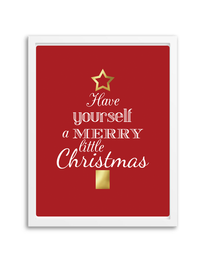 Free printable merry little christmas wall art free printable have yourself a merry little christmas wall art from chicfetti solutioingenieria Choice Image