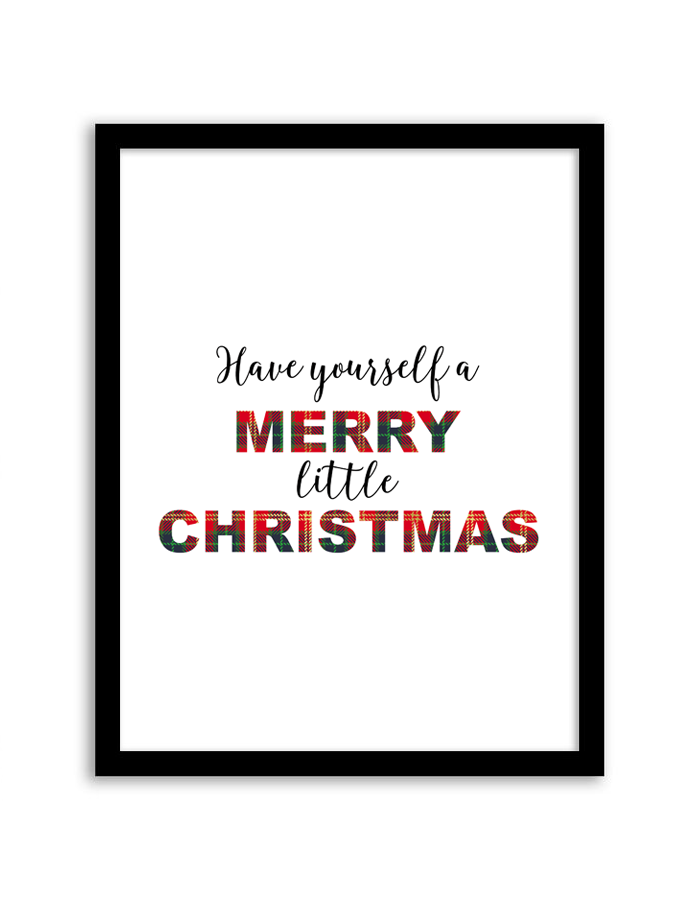 Free printable have yourself a merry little christmas wall art have yourself a merry little christmas wall art solutioingenieria Choice Image