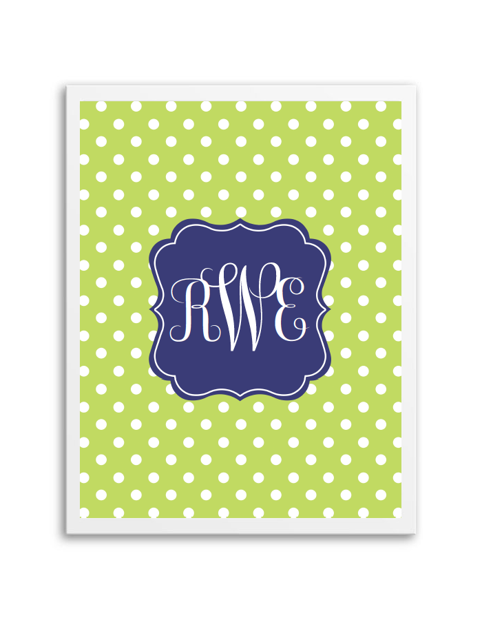 It's just a graphic of Modest Monogram Maker Printable