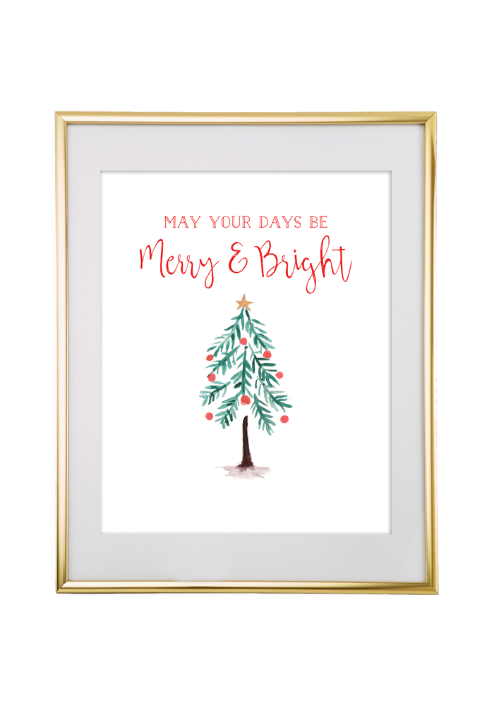 Christmas Free Printable Wall Art
