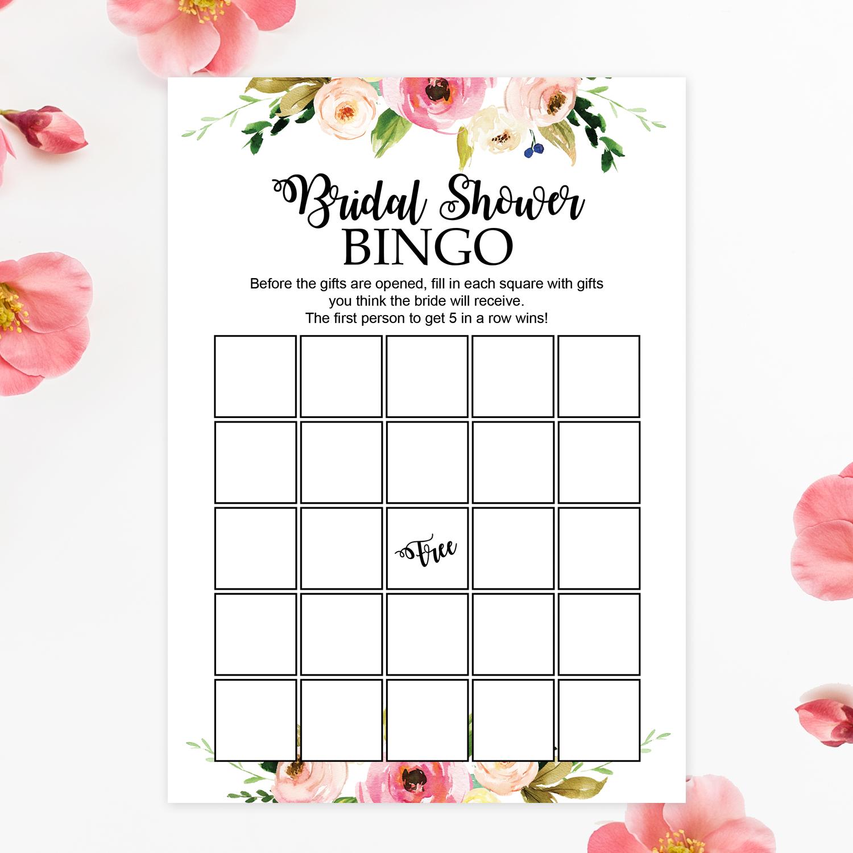 fl printable bridal shower bingo chicfetti