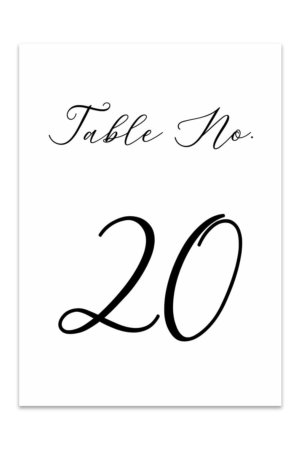 image relating to Printable Table Number identified as Desk Quantities - Free of charge Printable Desk Quantity Templates