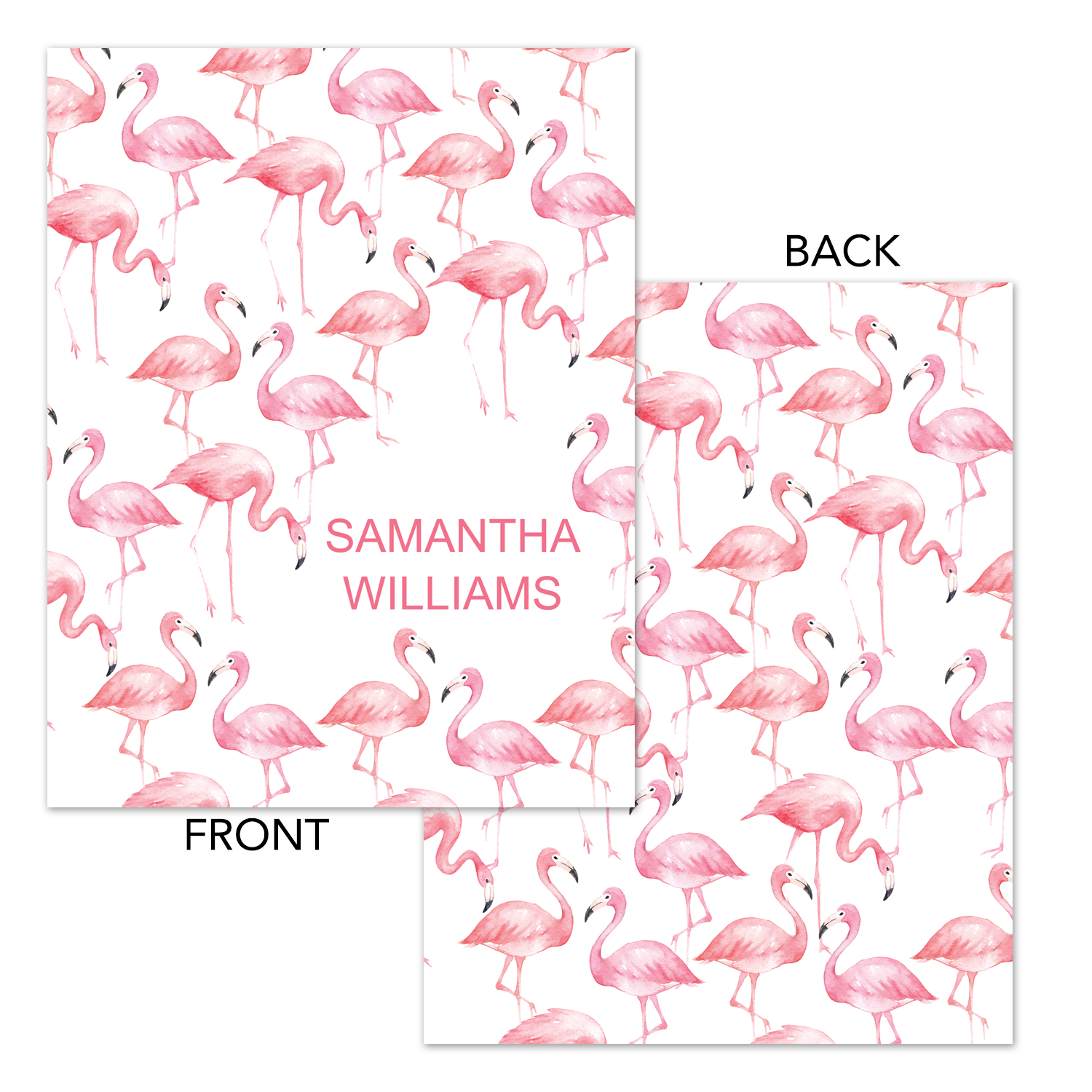 photo about Flamingo Printable titled Flamingo Printable Binder Go over - Planner Include