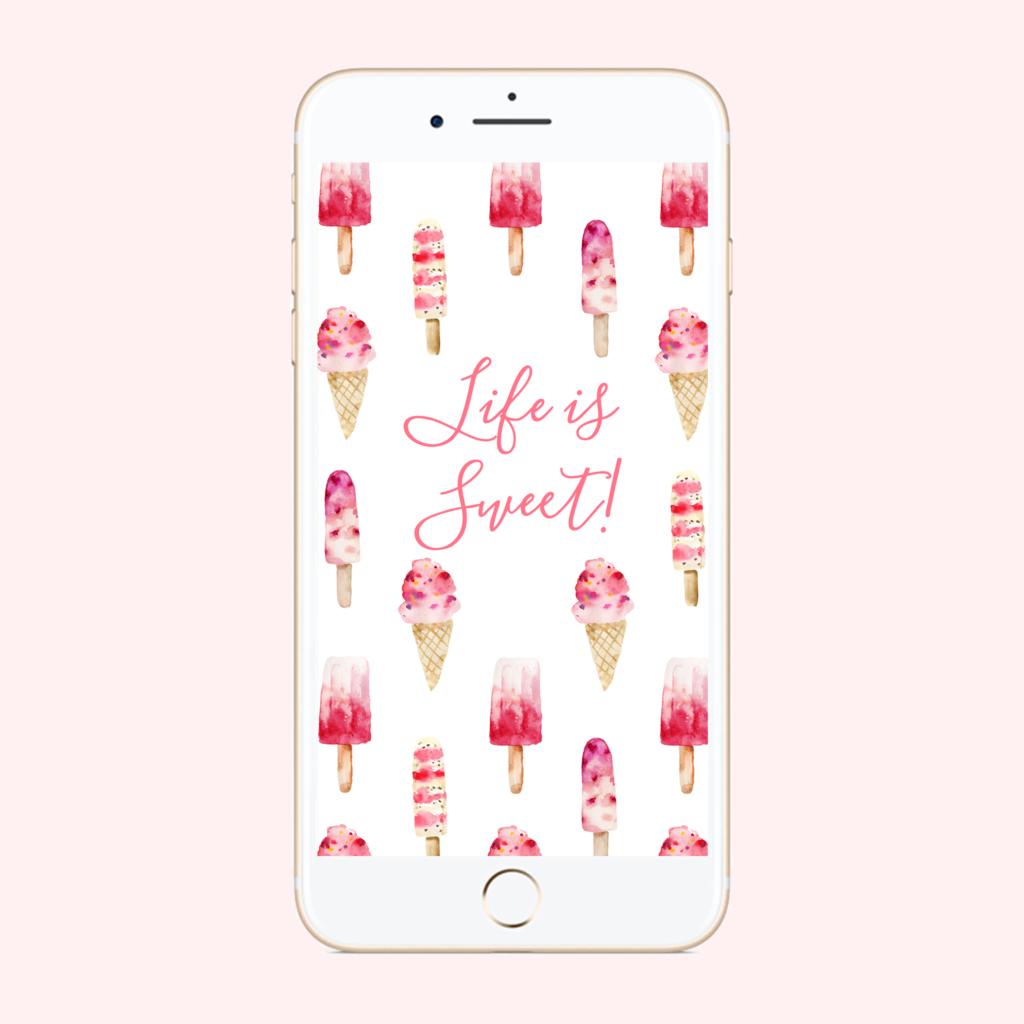 Life if Sweet Phone Wallpaper