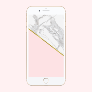 Marble Blush Phone Background