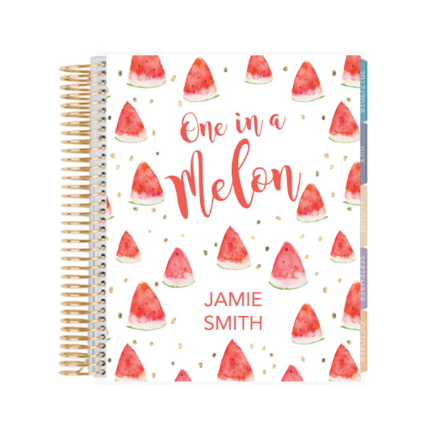 One in a Melon Printable Planner Cover