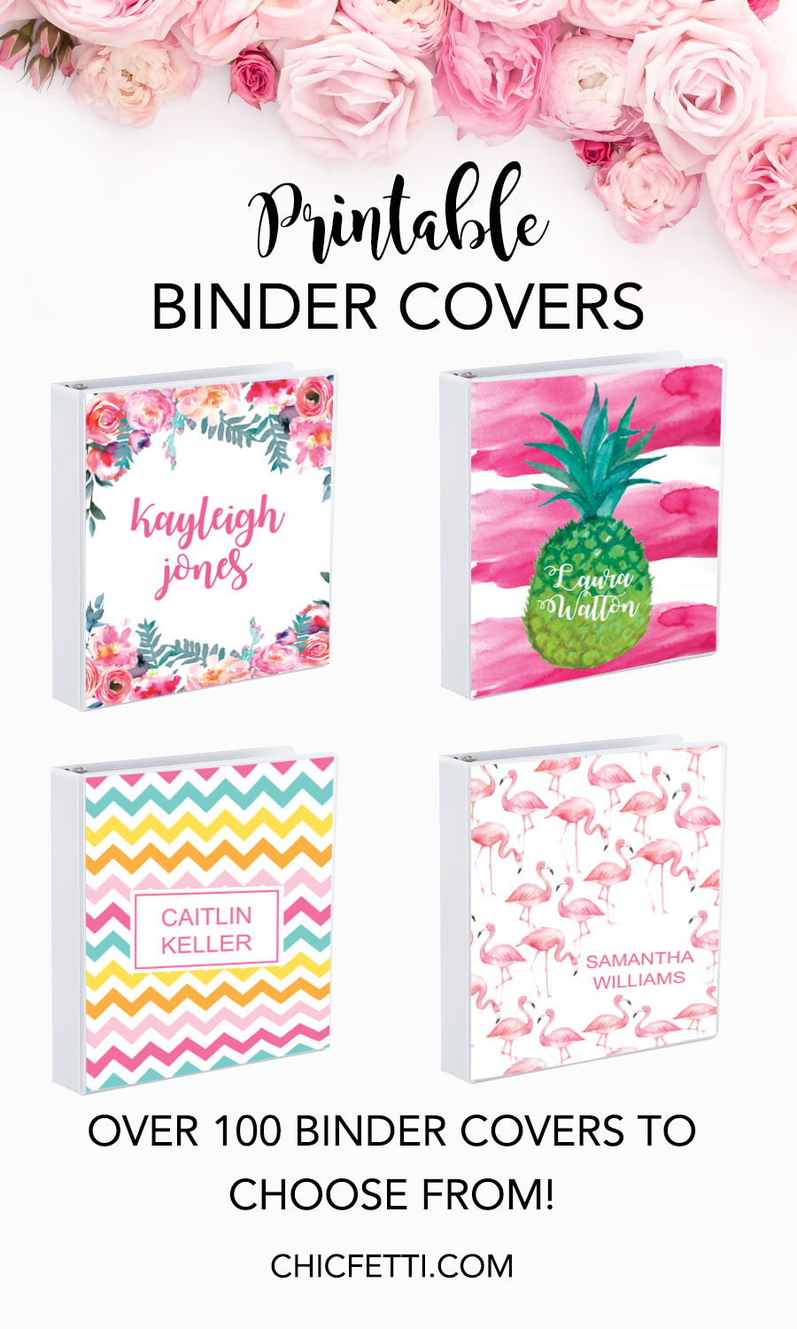 photograph about Binder Cover Printable referred to as Printable Binder Handles - Generate Your Individual Binder Addresses with