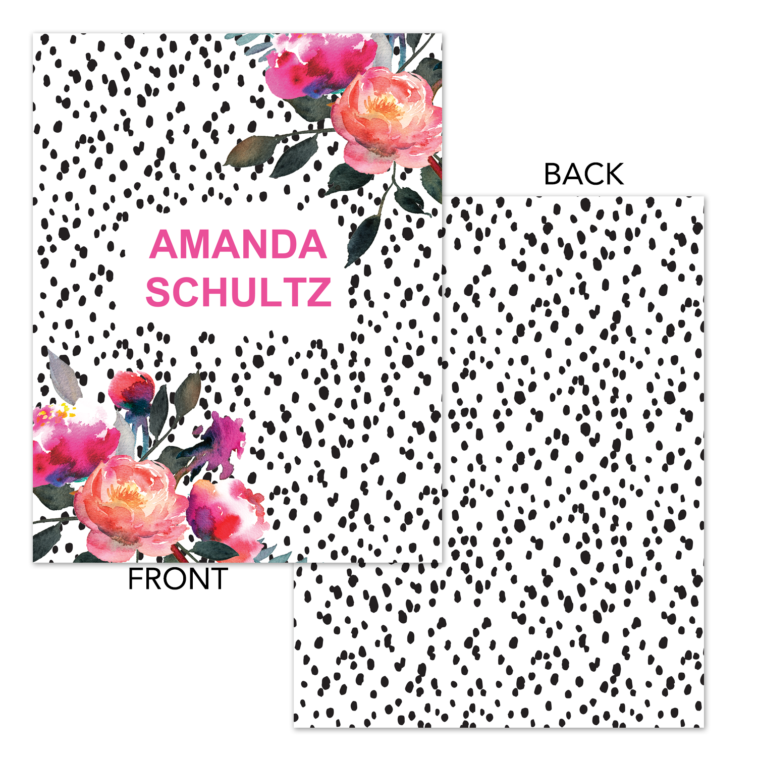 graphic about Planner Cover Printable named Noticed Floral Printable Binder Go over - Planner Deal with