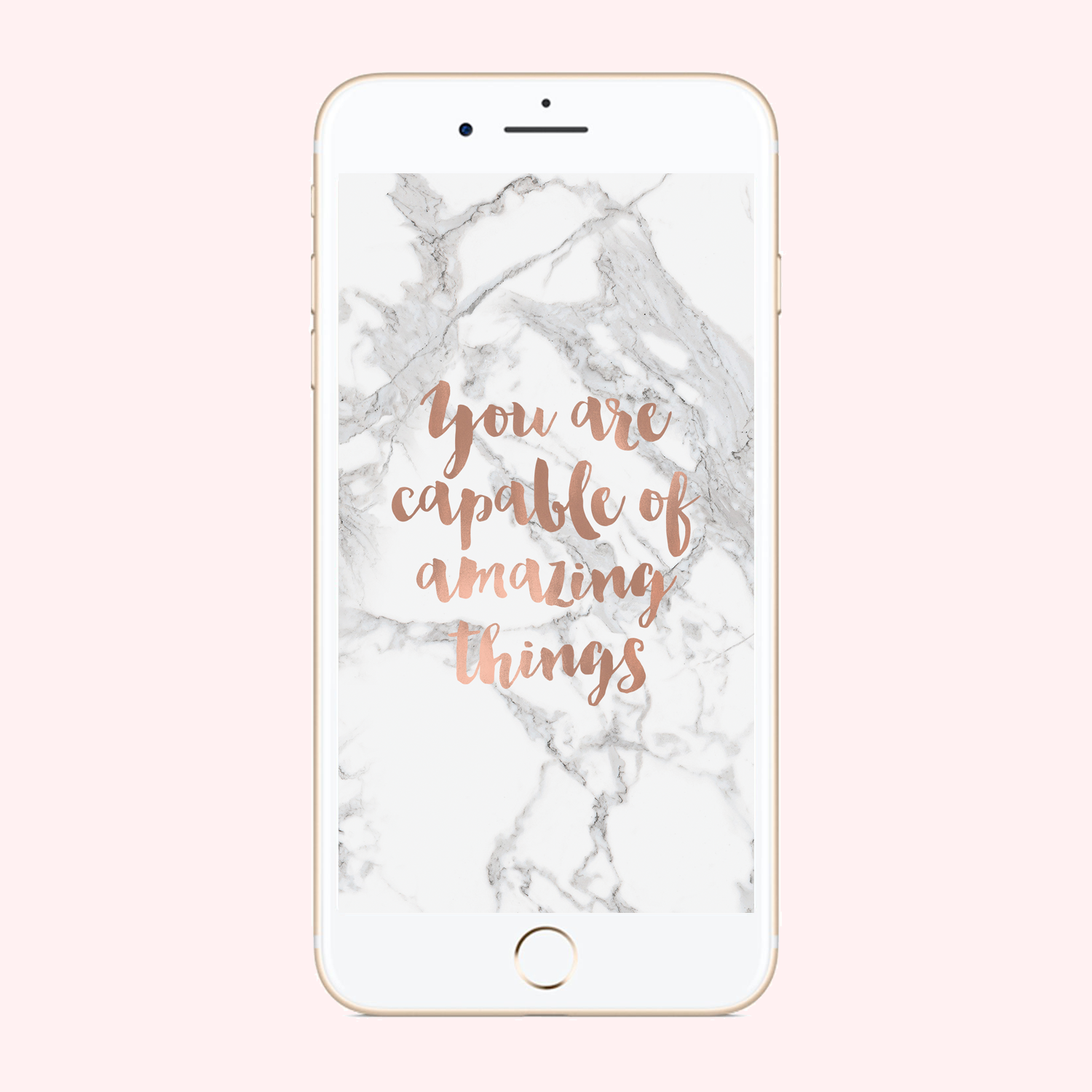 You are Capable Phone Background