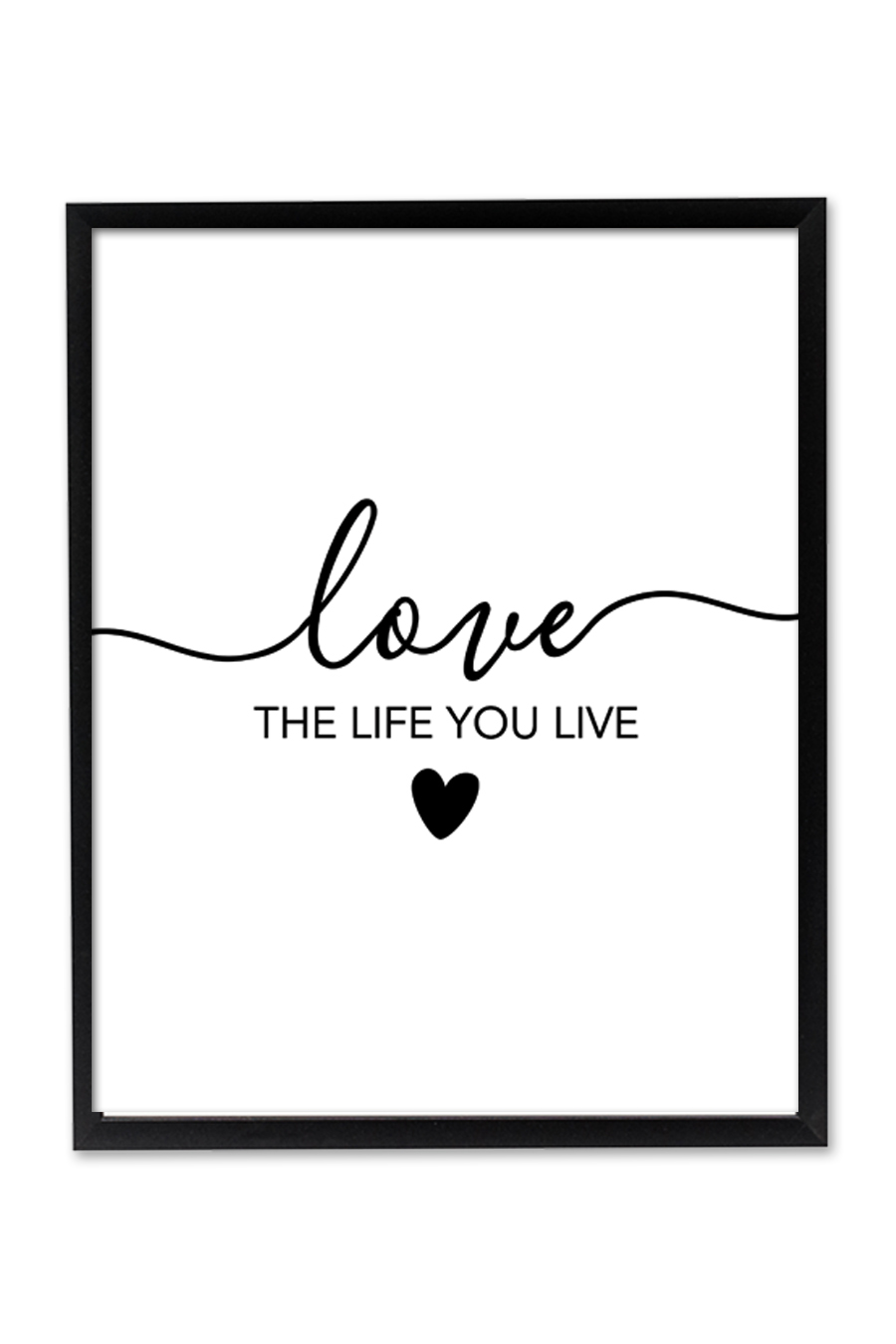 Love The Life You Live Printable Wall Art Chicfetti Want to learn to speak even more english the fast, fun and easy way? life you live printable wall art
