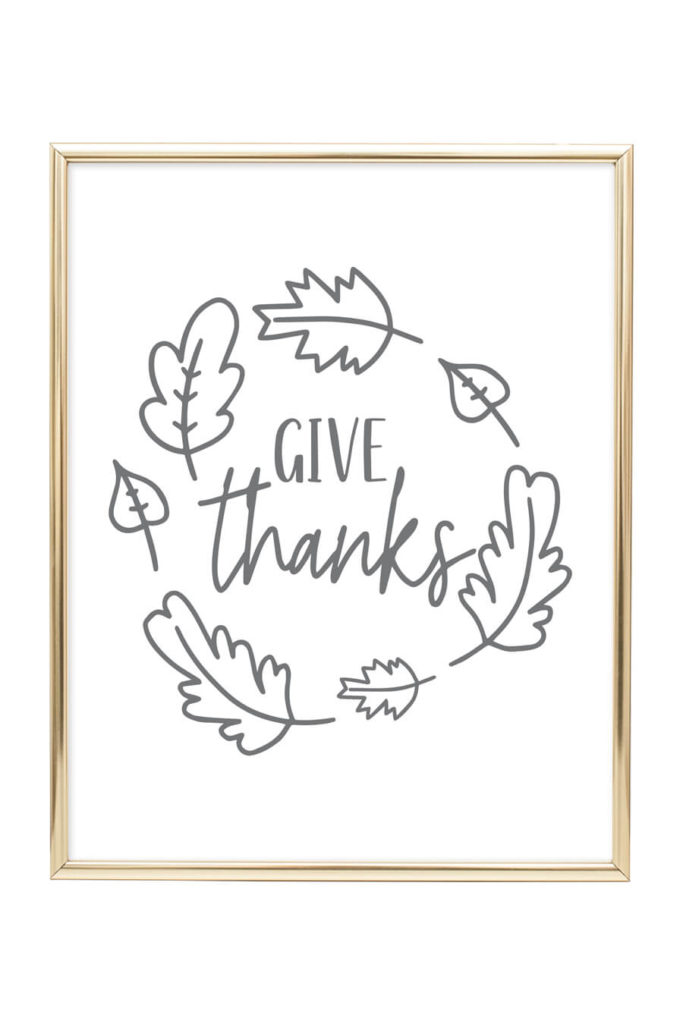 graphic relating to Give Thanks Printable identify Supply Due Printable Wall Artwork - Chicfetti