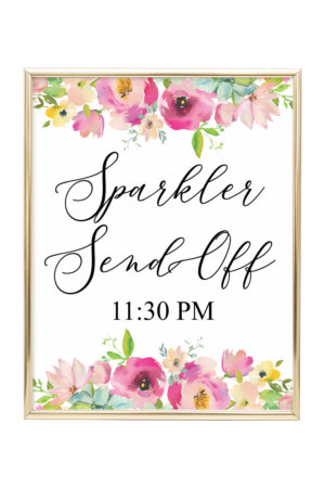 Printable Wedding Signs Archives - Chicfetti