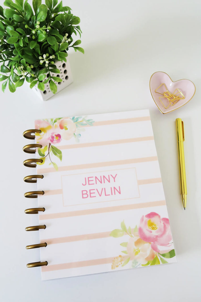 How to Make Your Own Planner Covers
