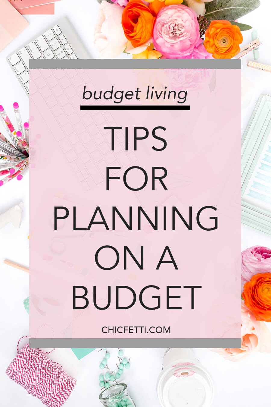 Tips for planning on a budget - If you're a planner girl, learn how to save money on planners and planner supplies. There are so many ways you can still plan without blowing your planning budget. #planners #planning #howtoplan #plannerideas #budget #budgeting #budgetliving #howtobudget