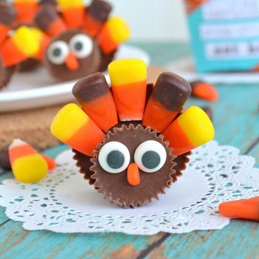 10 Cute Thanksgiving Desserts That Kids Will Love