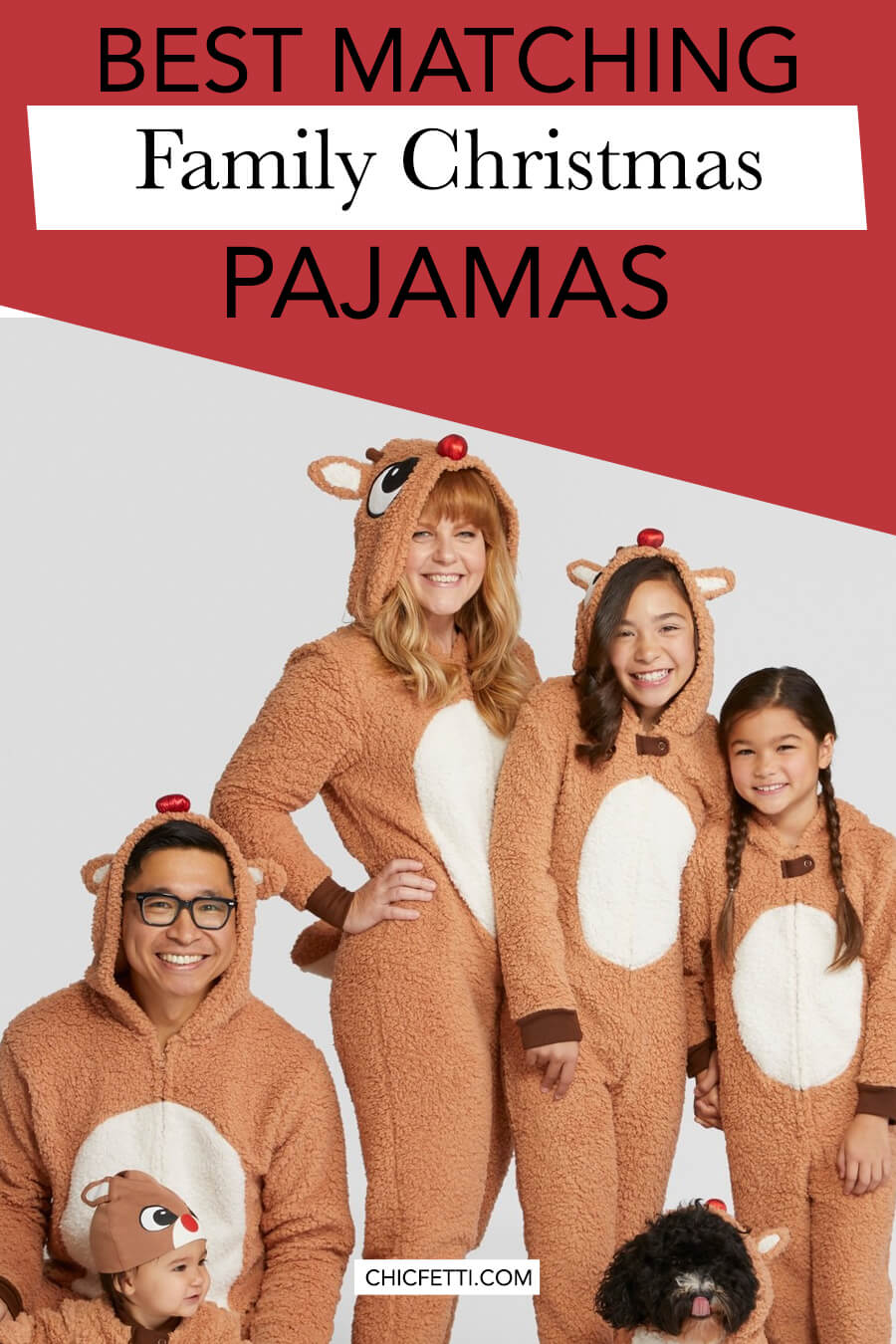 Best Matching Family Christmas Pajamas - get matching Christmas pajamas for your whole family. Your family will look adorable in matching family pajamas on Christmas morning. #christmas #christmasideas #christmaspajamas #familypajamas #christmastradition #familypjs #christmaspjs