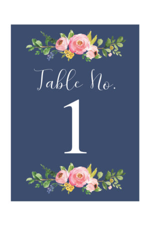 image regarding Free Printable Wedding Table Numbers named Desk Quantities - Absolutely free Printable Desk Selection Templates