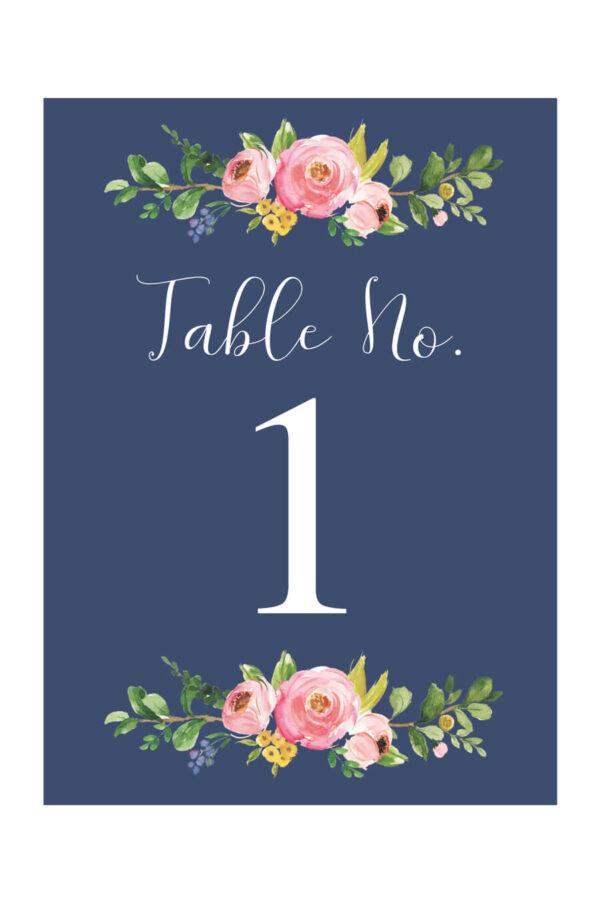 Greenery Editable pdf Templett Printable Table Numbers INSTANT DOWNLOAD Bramble Leaves Wedding Table Numbers DIY Printable Decorations