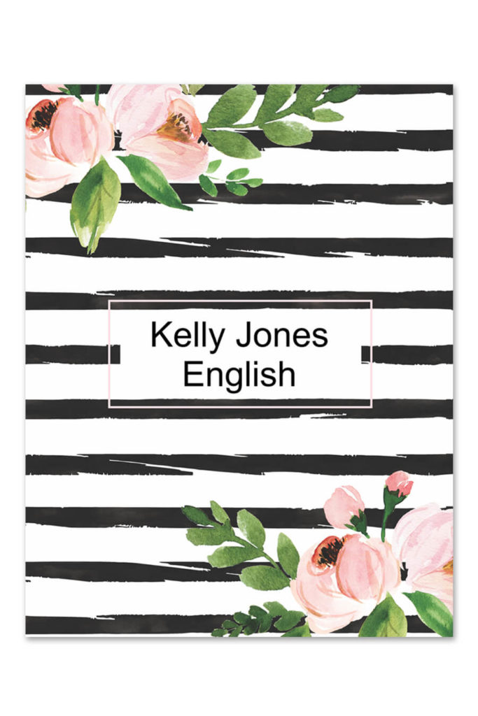 Free Printables Binder Cover