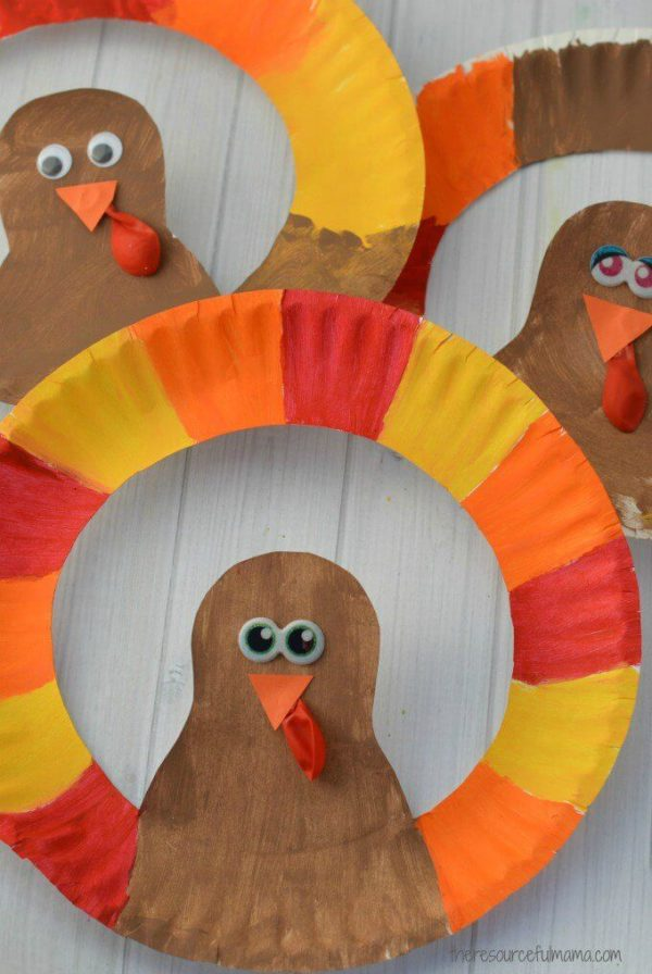 15 Fun Thanksgiving Crafts for Kids