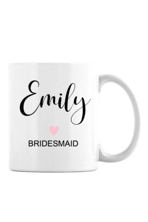 Bridal Party Personalized Mug
