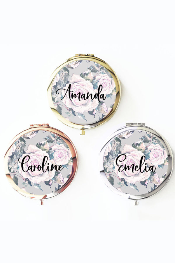 Personalized Garden Rose Compact