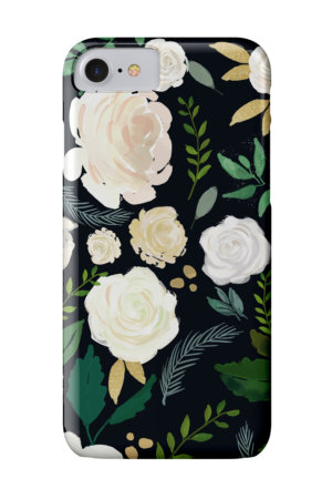 Midnight Floral iPhone Case