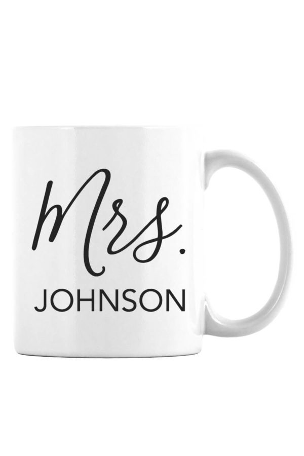 Mrs Personalized Mug