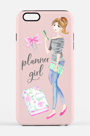 Planner Girl iPhone Case