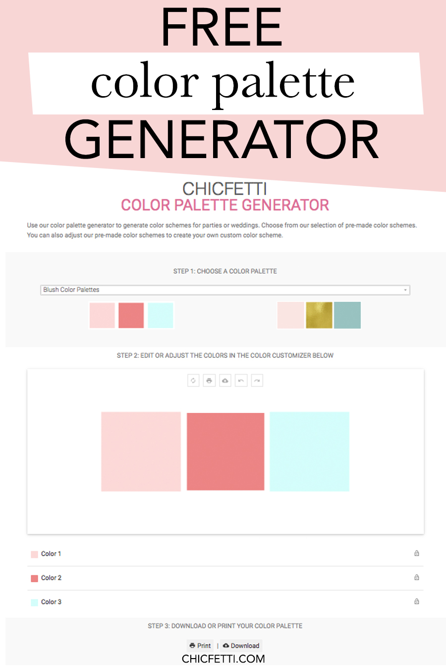 Free Color Palette Generator