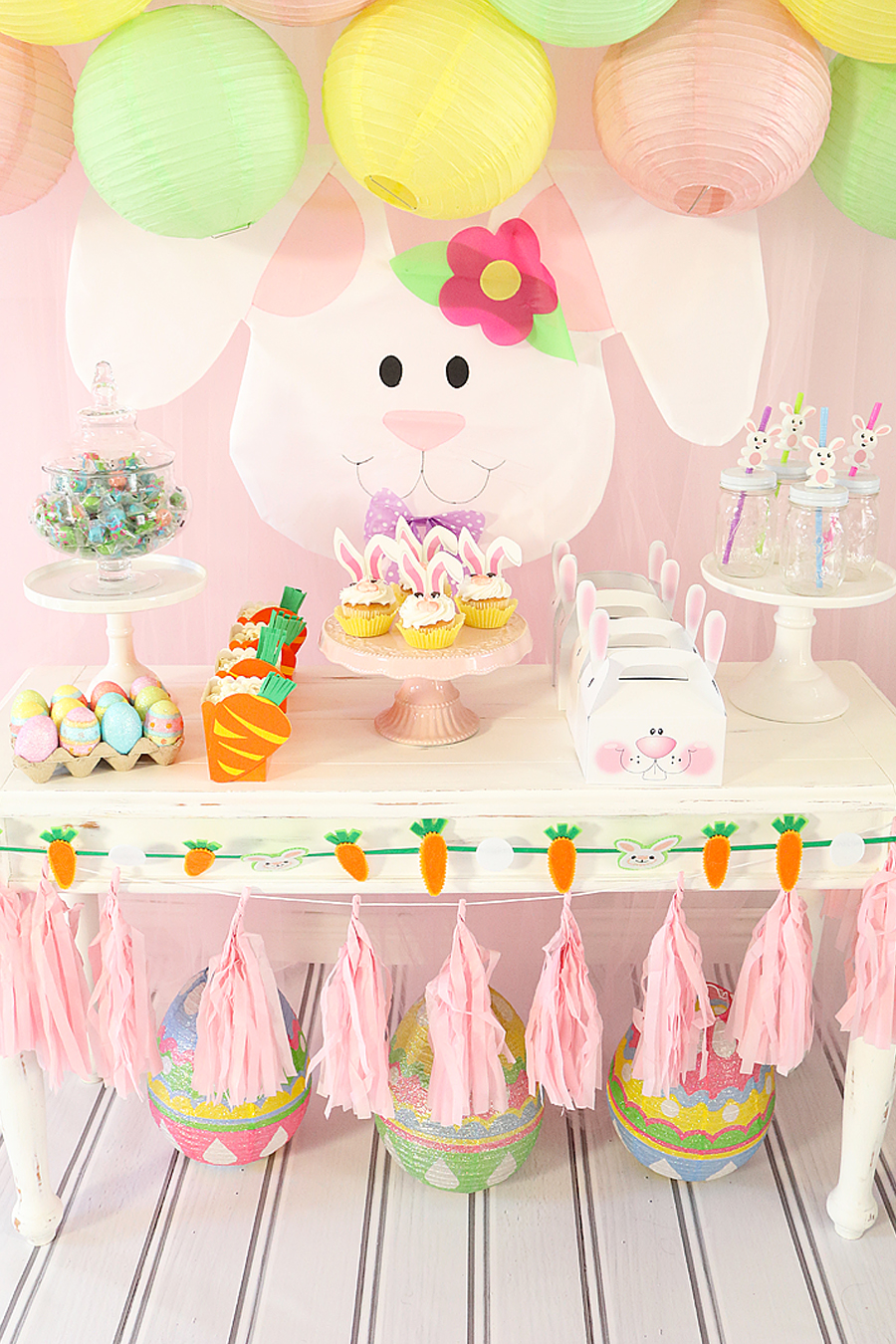 Baby Shower Themes for Girls - Bunny Baby Shower