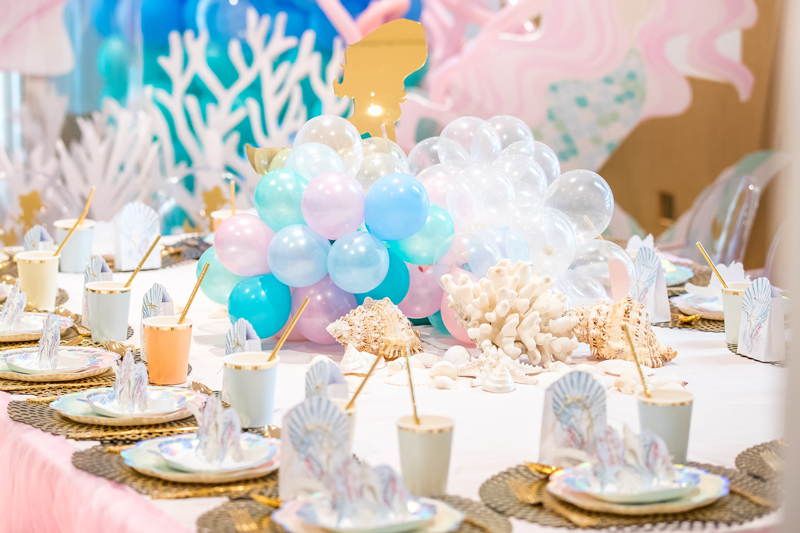 Baby Shower Themes for Girls - Under the Sea Baby Shower