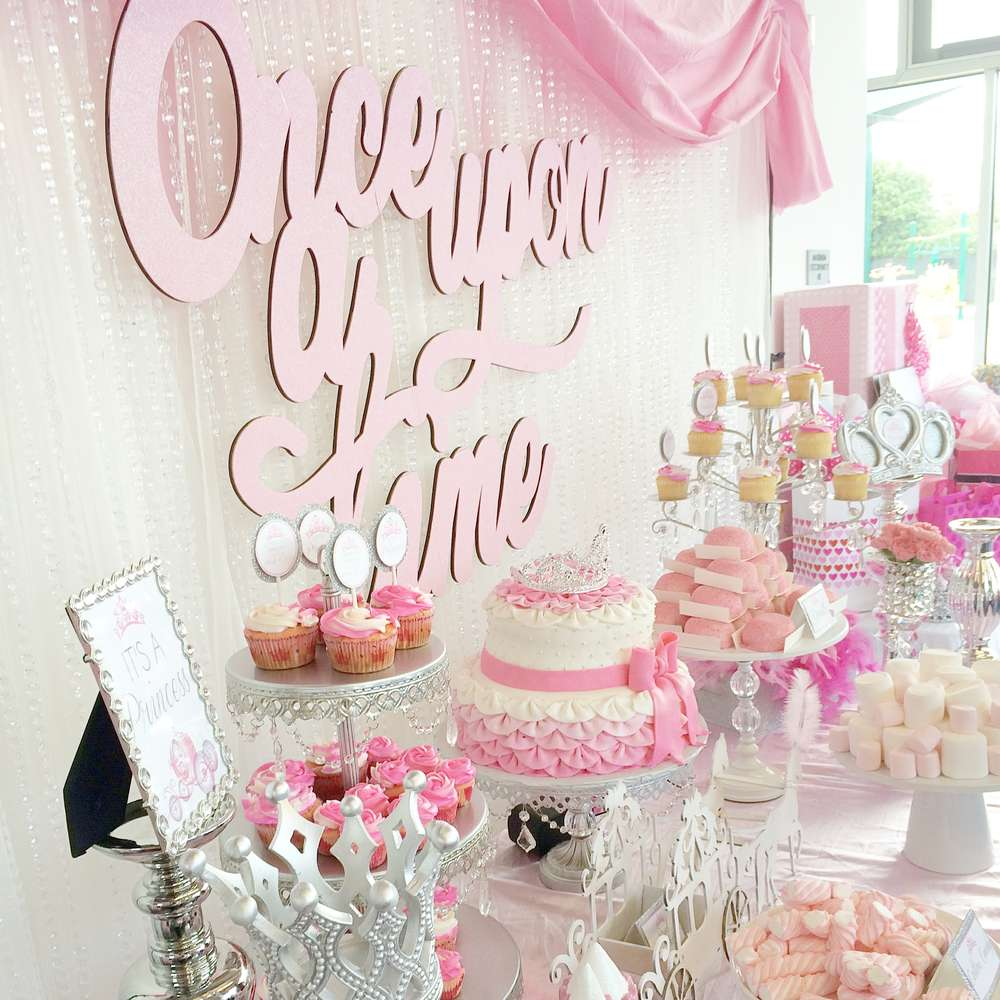 Baby Shower Themes for Girls - Princess Baby Shower