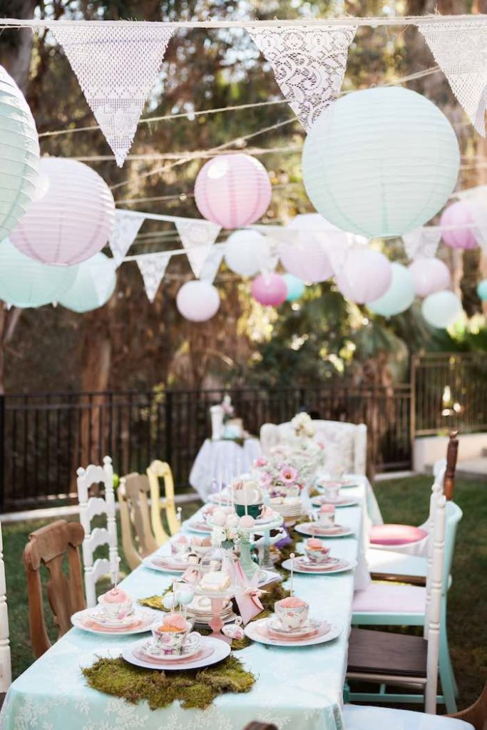 Baby Shower Themes for Girls - Shabby Chic Baby Shower