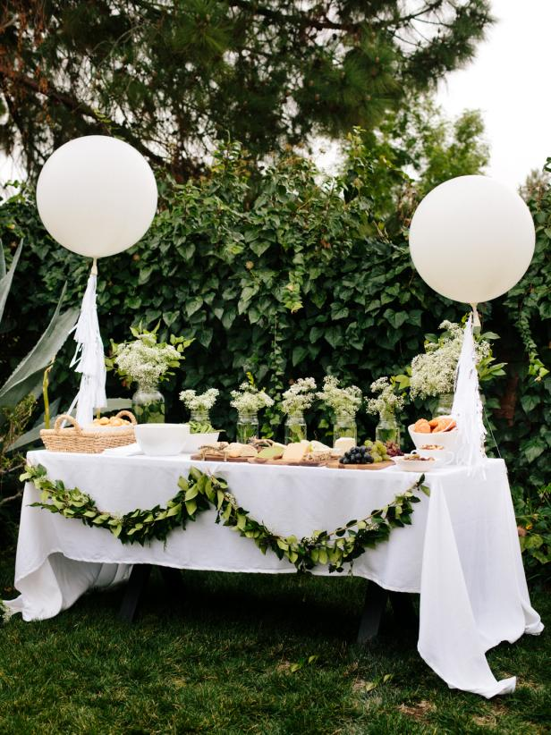 Baby Shower Themes for Girls - Greenery Baby Shower