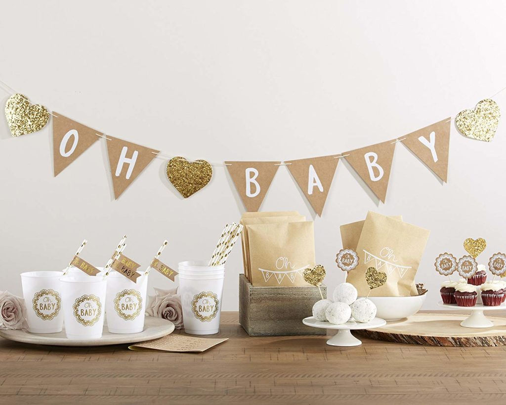 Baby Shower Themes for Girls - Rustic Baby Shower