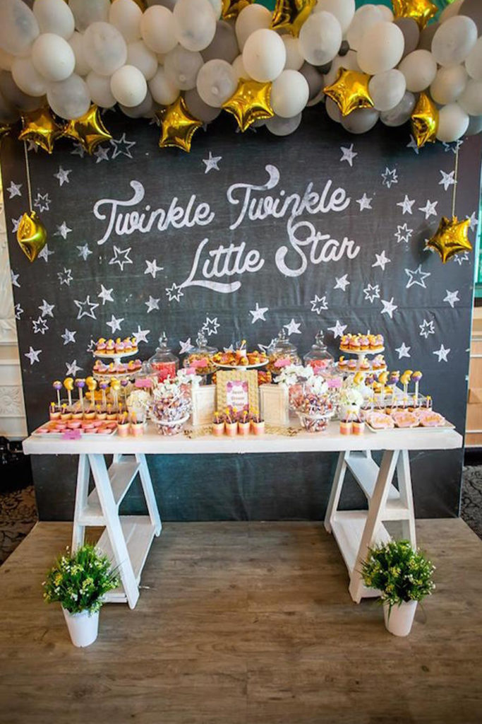 Baby Shower Themes for Girls - Twinkle Twinkle Little Star Baby Shower