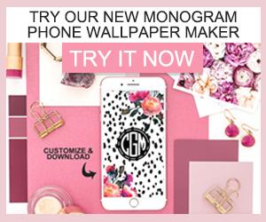 Monogram Maker - Make your own
